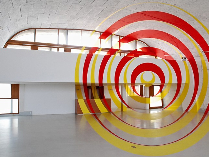 Marseille: Kunst in der Cité Radieuse