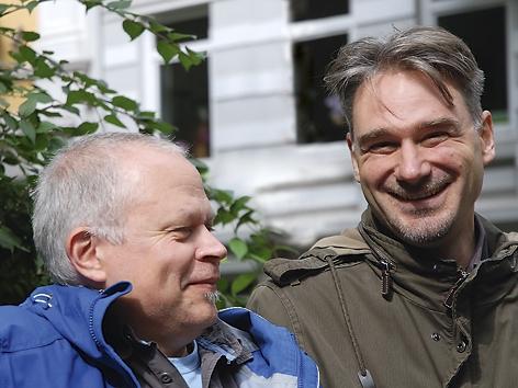 Matthias Pätzold (links) und Harald Kother