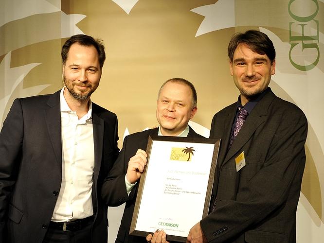 Verleihung der Goldenen Palme von GEO Saison